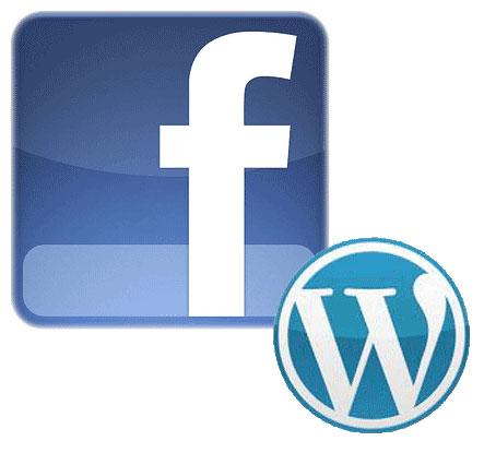 Facebook and WordPress
