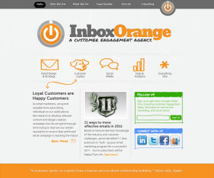 Inbox Orange website