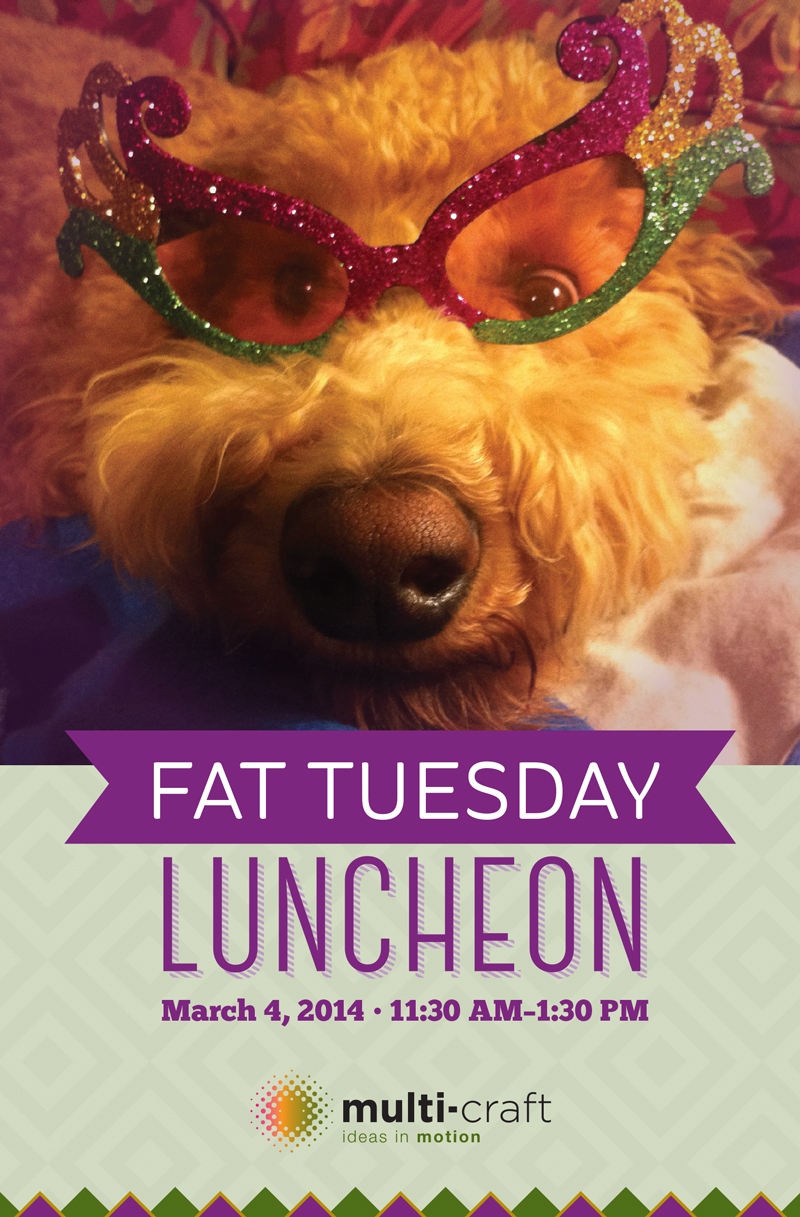 Serif Group's entry in the Multi-Craft Fat Tuesday poster contest